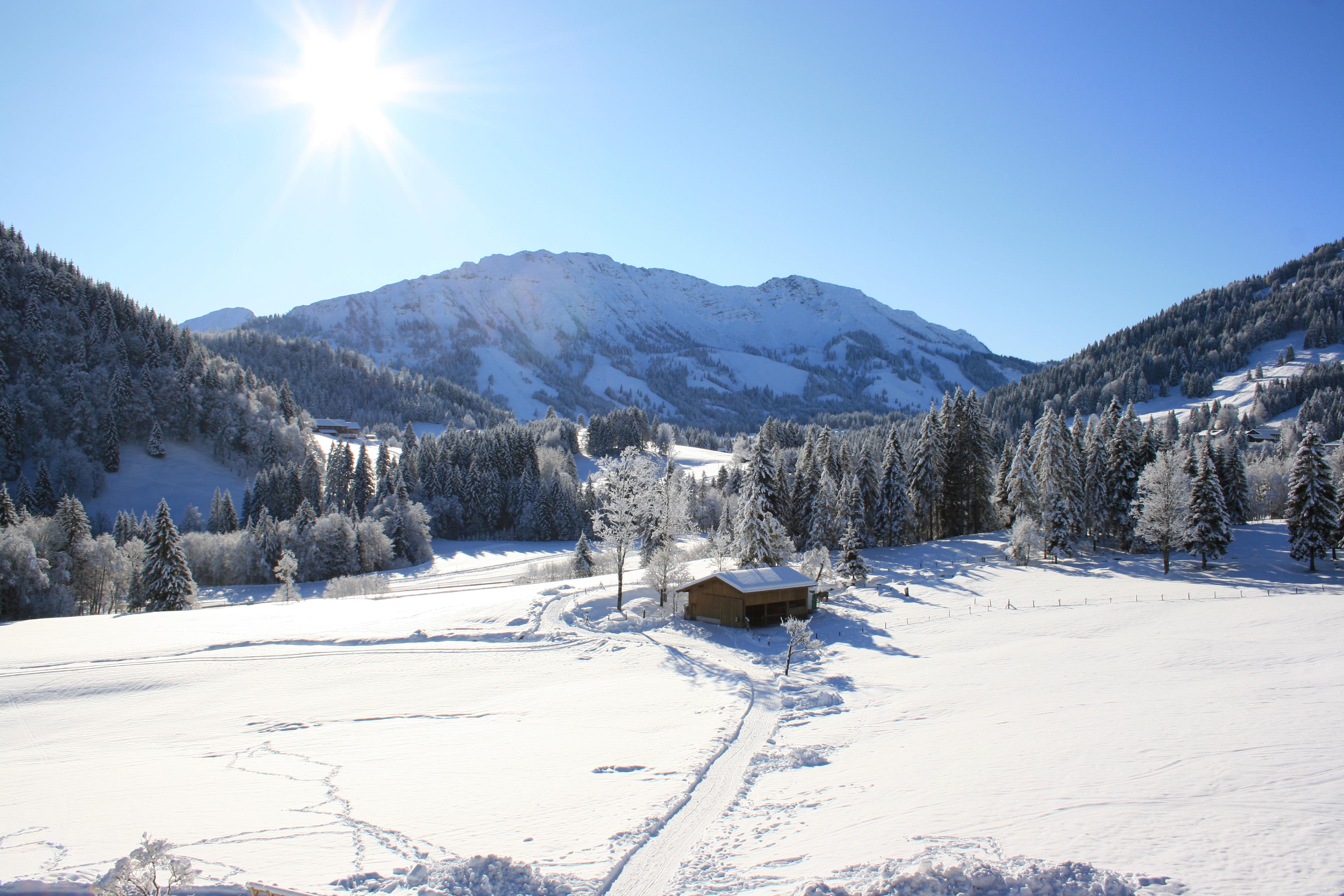 Skigebiet Allgäu Hotel Edelsberg Umgebung
